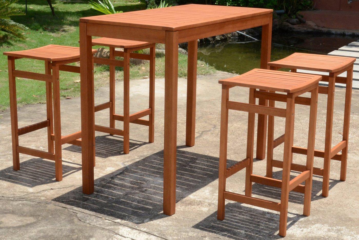 barhocker mit tisch machen sie den preisvergleich bei nextag. Black Bedroom Furniture Sets. Home Design Ideas