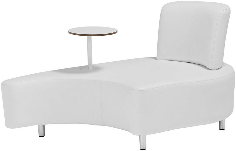 Loungesessel weiss outdoor  GARDEN PLEASURE Loungesessel »AALBORG«, Alu/Outdoor-Kunstleder (PU ...