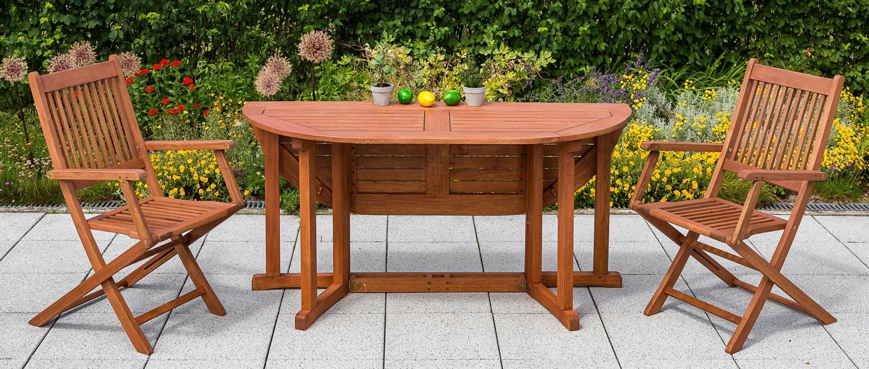 MERXX Gartentisch , Eukalyptus, klappbar, 150x100 cm, braun   Garten > Gartenmöbel > Gartentische   Akazie   MERXX