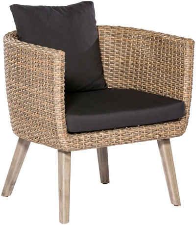 Lounge Sessel Aus Polyrattan Rattan Online Kaufen Otto