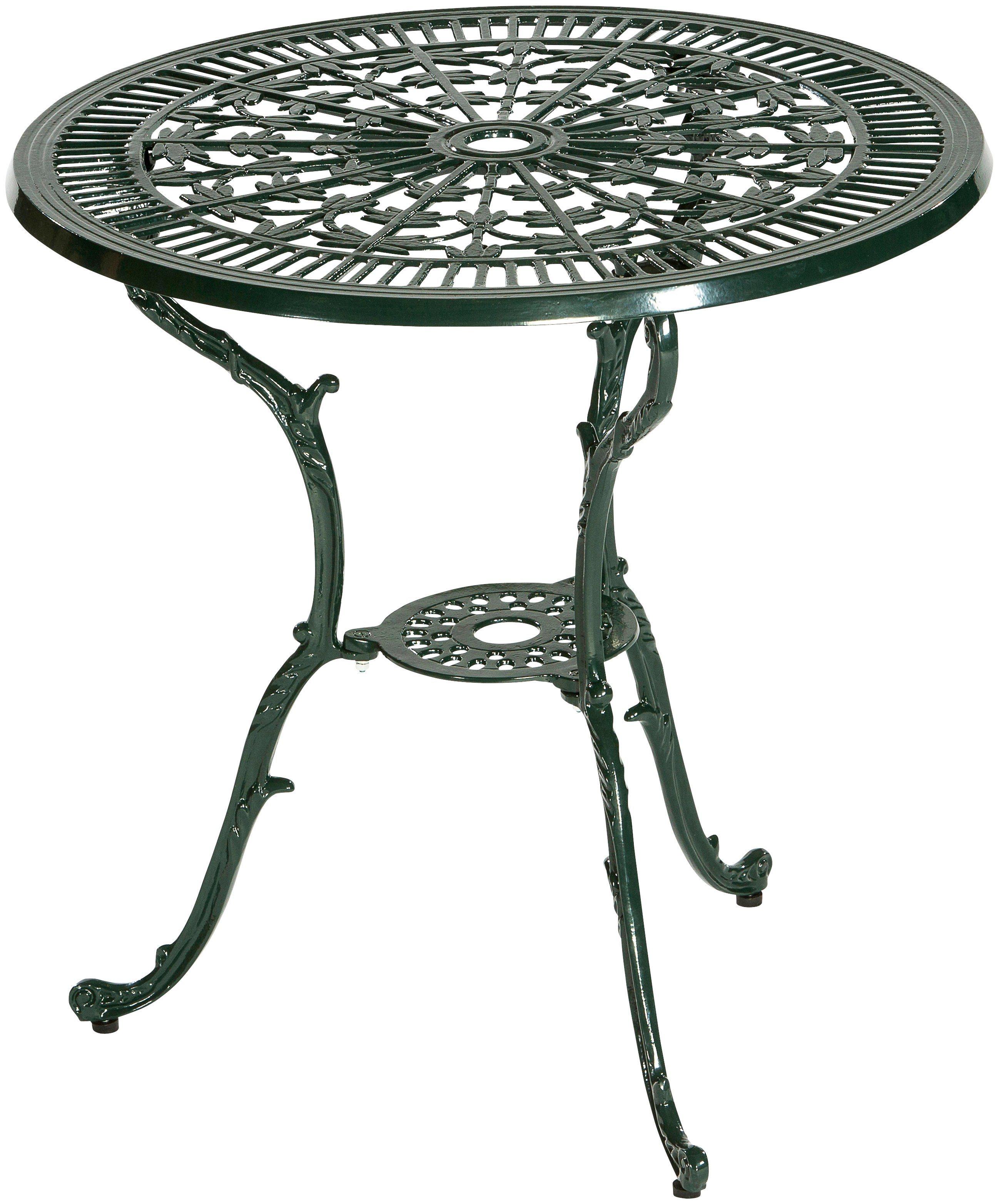 MERXX Gartentisch »Lugano«, Aluminium, Ø 70 cm, grün   Garten > Gartenmöbel > Gartentische   MERXX