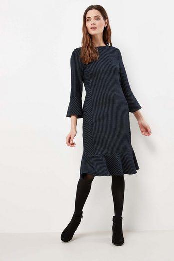 Next Gestreiftes Kleid mit ausgestelltem Saum