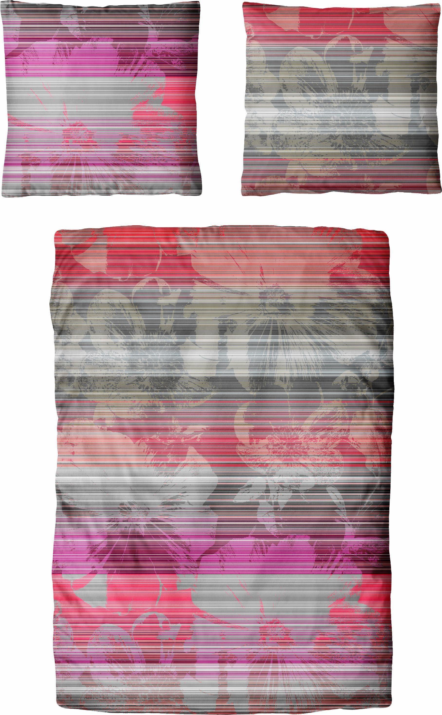 Bettwäsche »Sylvie«, Auro Hometextile, im bunten Streifendesign