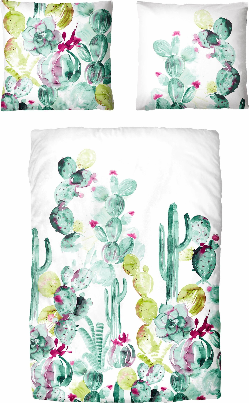 Bettwäsche »Desert«, Auro Hometextile, mit Kaktus Muster