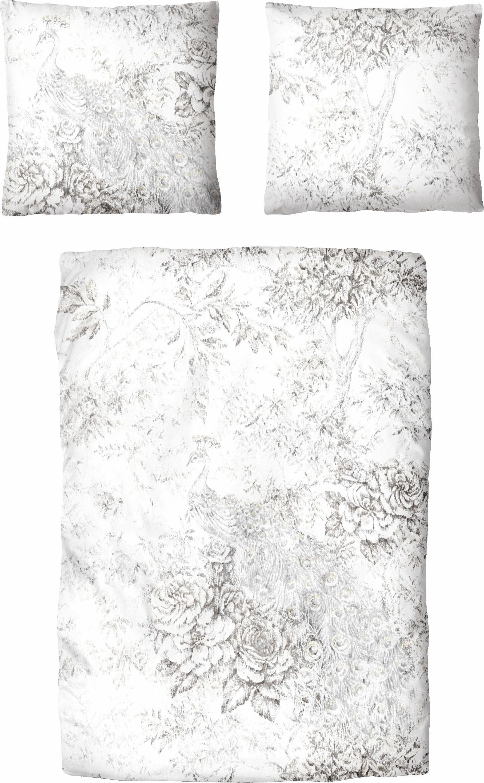 Bettwäsche »Ninette«, Auro Hometextile, im dezenten Blumendesign