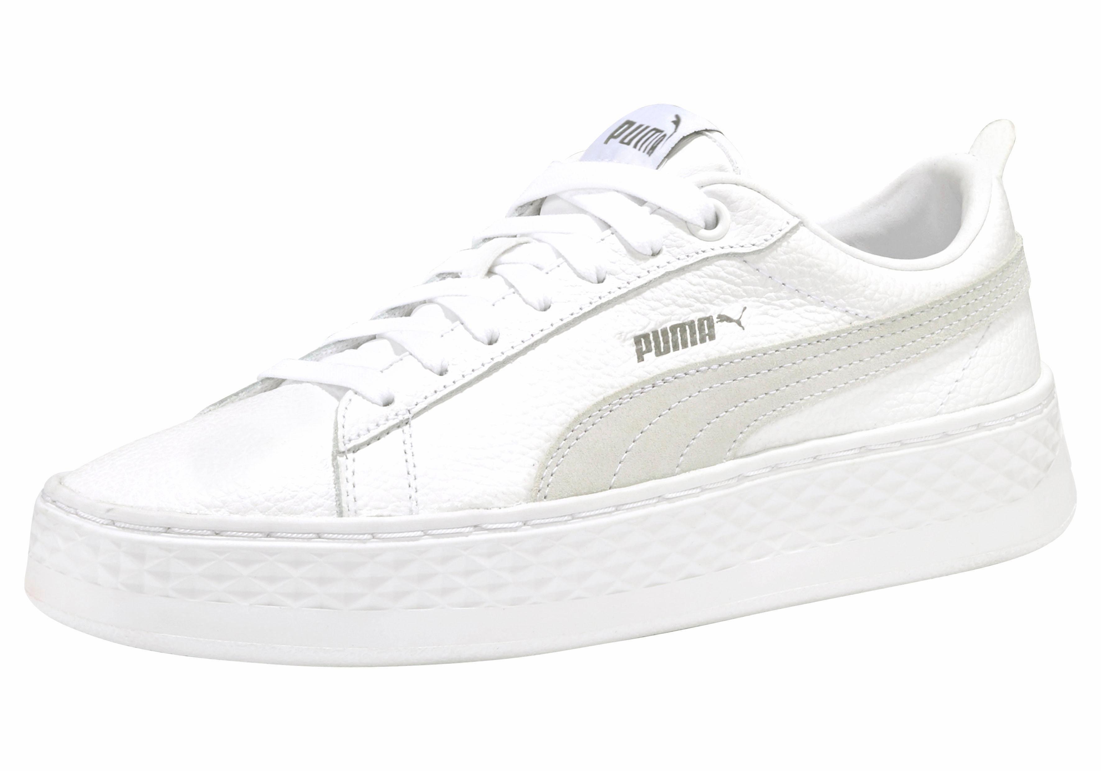 PUMA Smash Platform L Damen Sneaker Schwarz, Größenauswahl:40