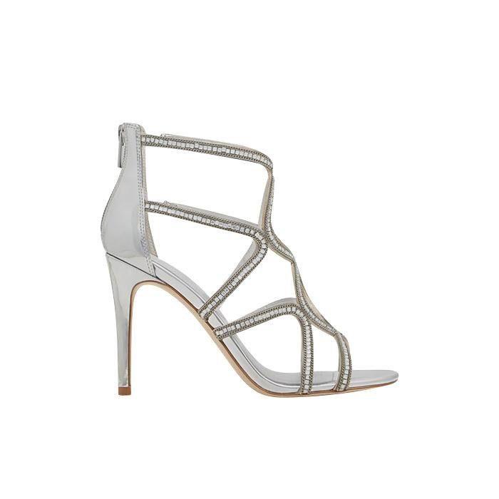 ALDO Asteicia Sandalette, mit zarten Strass-Steinchen online kaufen  silberfarben