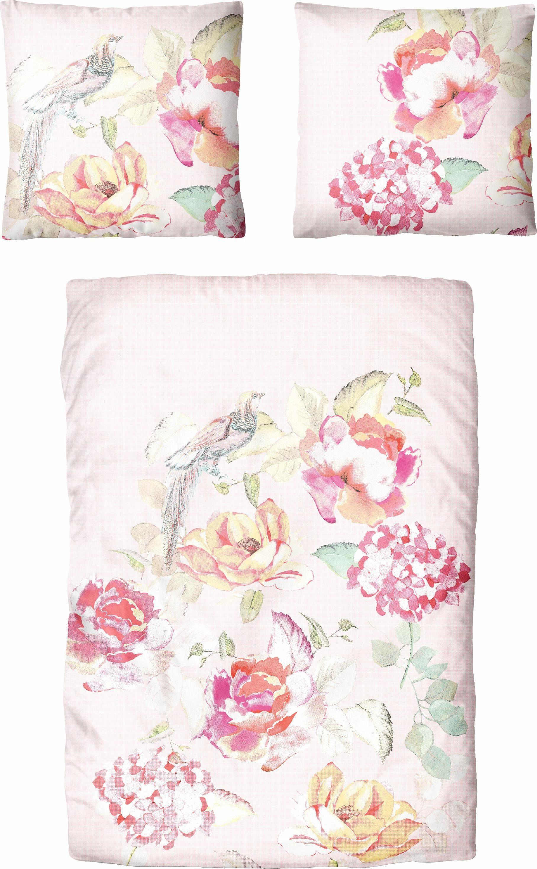 Bettwäsche »Miranda«, Auro Hometextile, im romantischen Blumendesign