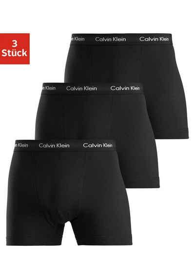 Calvin Klein Boxer (3 Stück) in uni schwarz
