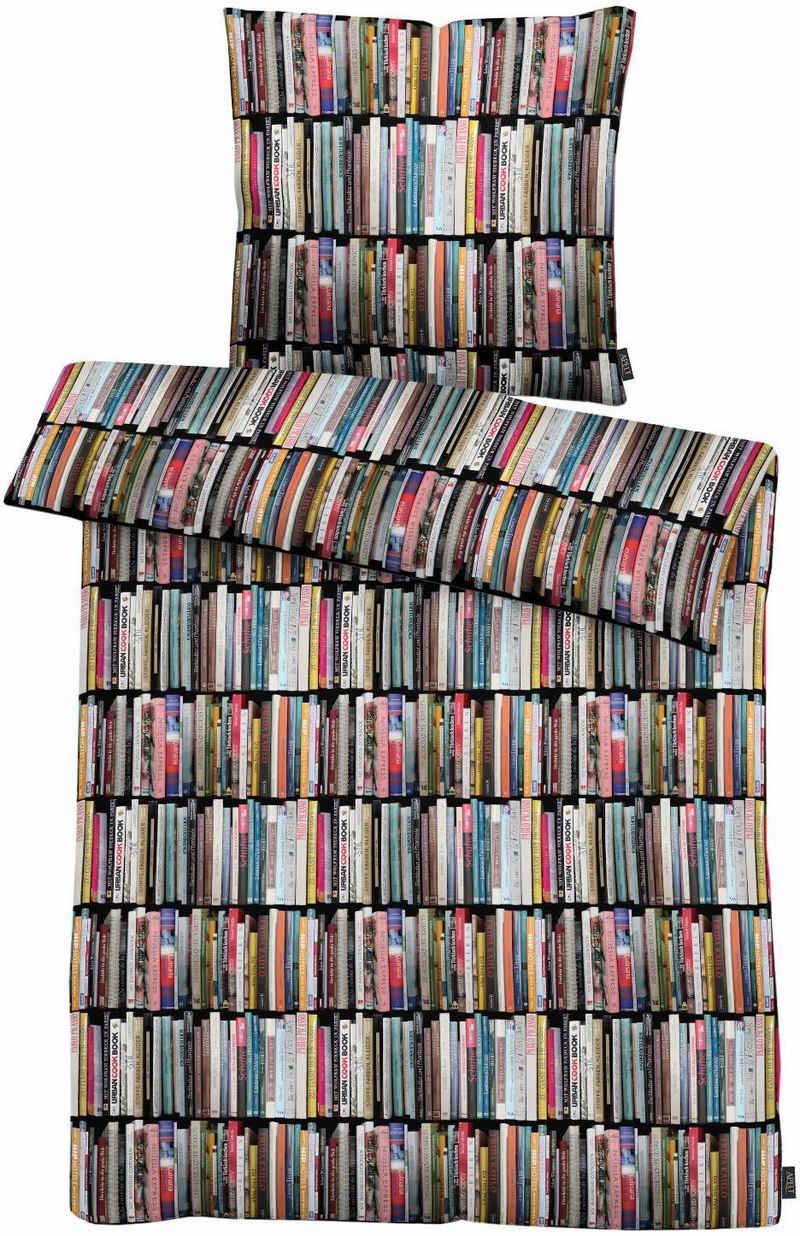 Bettwäsche »Ben«, APELT, mit Büchern
