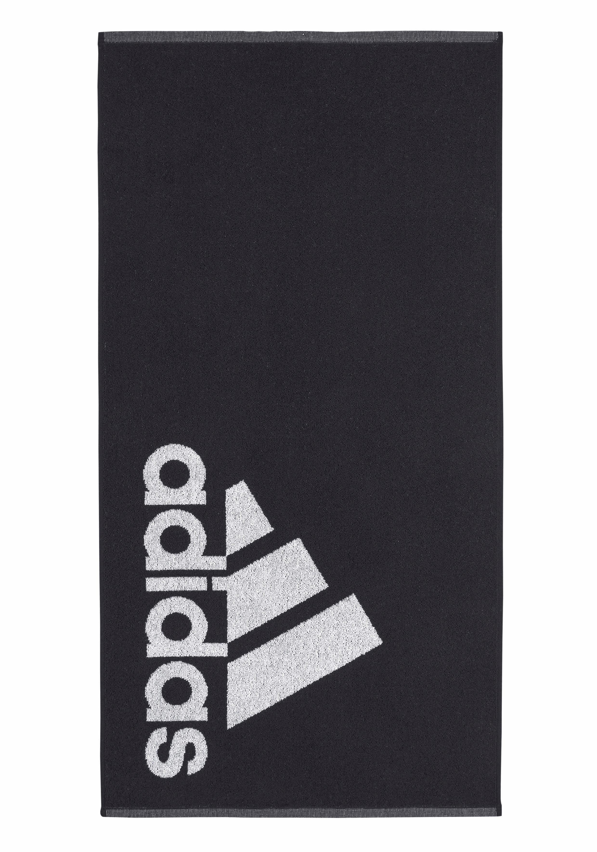 Handtuch, adidas Performance, mit großem Markenlogo