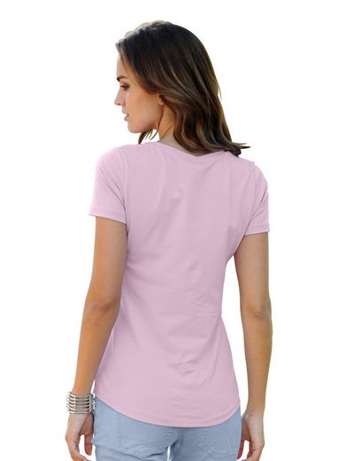 Alba Moda Shirt mit Tupfen-Druck