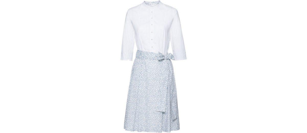 Billig Verkauf Kauf Wallmann Kleid mit Tupfen Speichern Günstigen Preis Günstige Standorte Verkauf Auslass Günstig Kaufen Suche BtImX