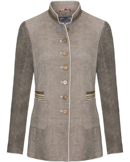 White Label Frock Coat Made Of Linen