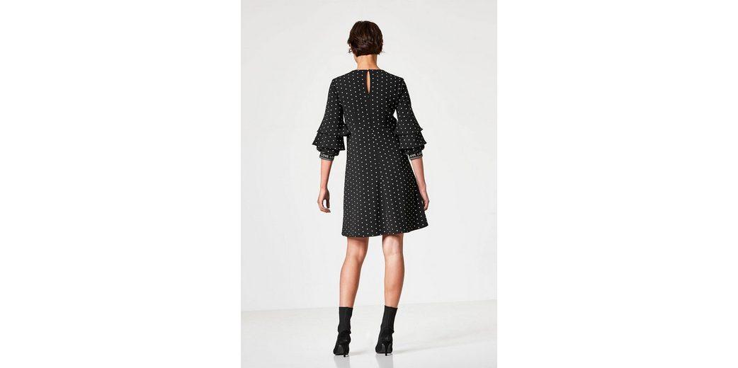 HALLHUBER Kleid mit Miniblumen-Print Ausverkauf bUN8v