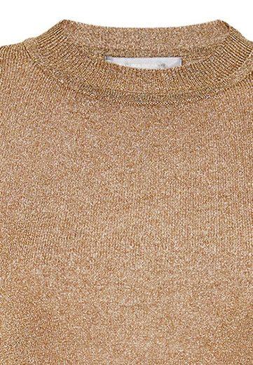 HALLHUBER Lurex Pullover mit Halbärmeln