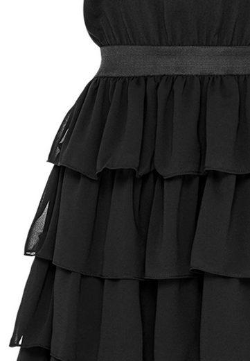 HALLHUBER Two-in-One-Kleid mit Stufenvolants