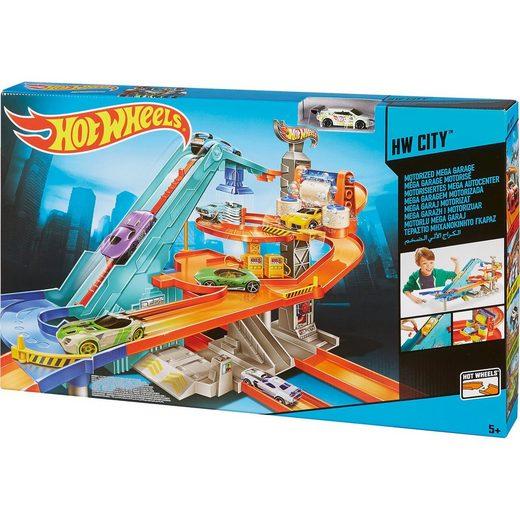 Mattel® Hot Wheels Motorisiertes Mega Autocenter -Exklusiv bei myToy
