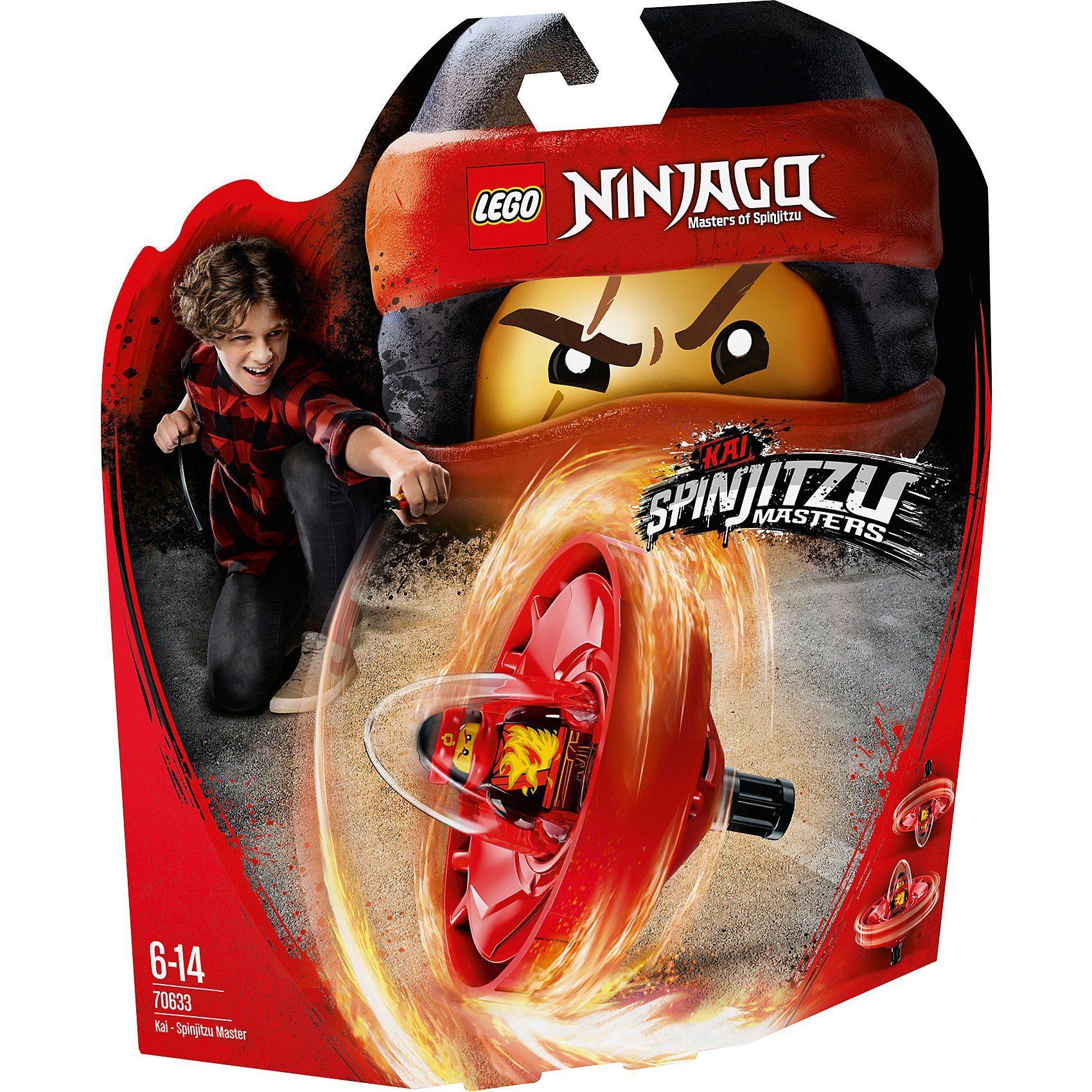70633 Ninjago: Spinjitzu-Meister Kai