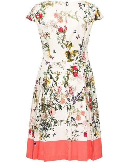 Robe Blanche Avec Imprimé Floral