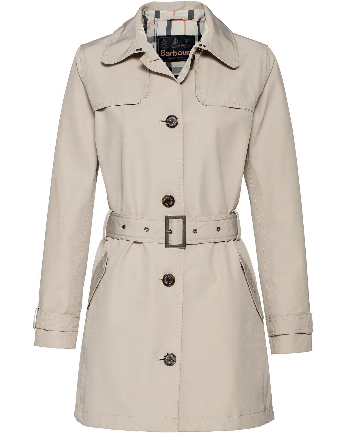Barbour Trenchcoat Thornhill | Bekleidung > Mäntel > Trenchcoats | Muster | Baumwolle | Barbour