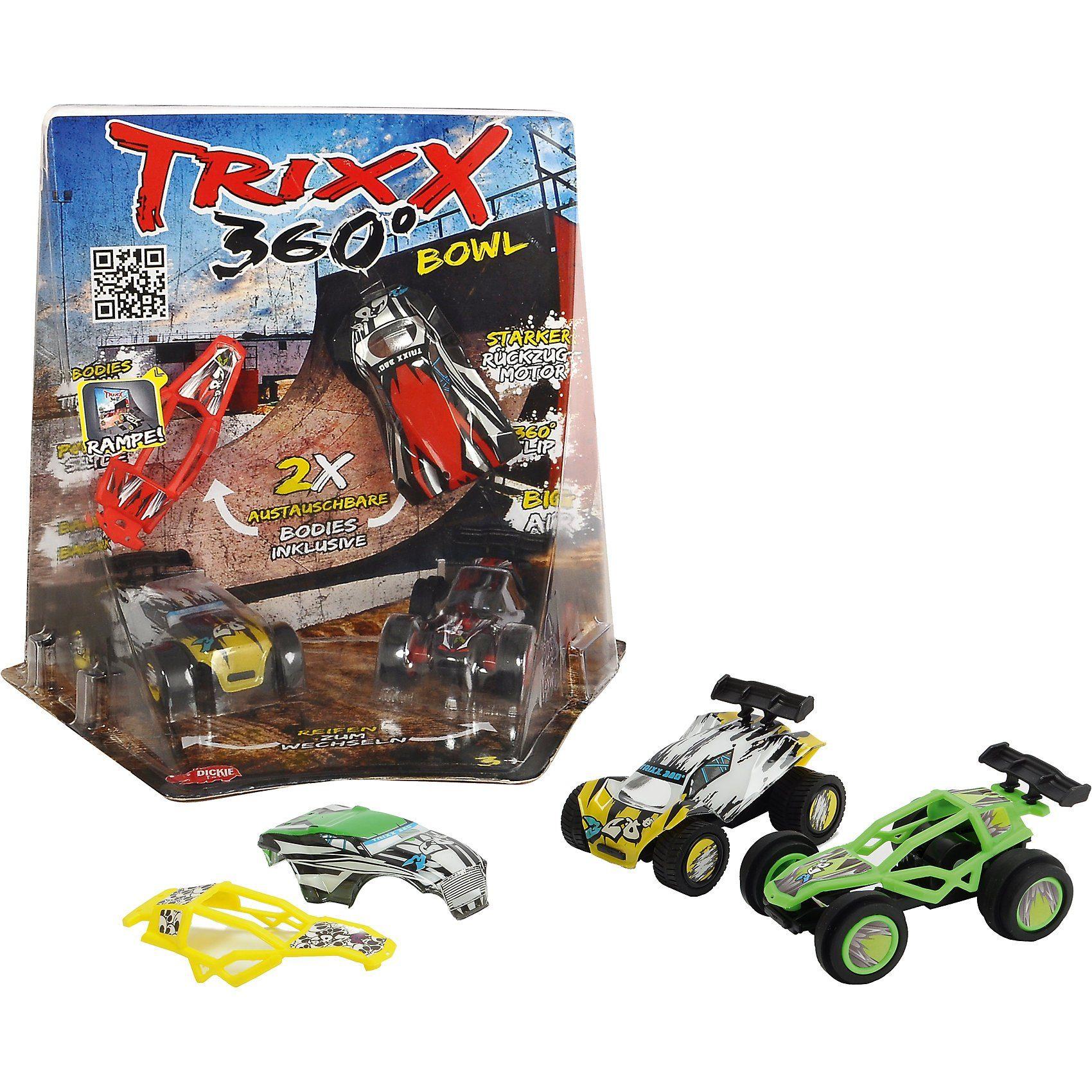 Dickie Toys TRXX04 Trixx 360 - Corner Bowl Ramp
