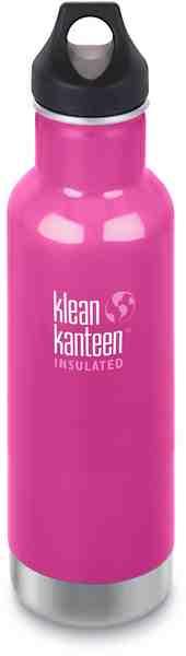 Klean Kanteen Trinkflasche »Classic Vacuum Insulated Bottle Loop Cap 592ml«