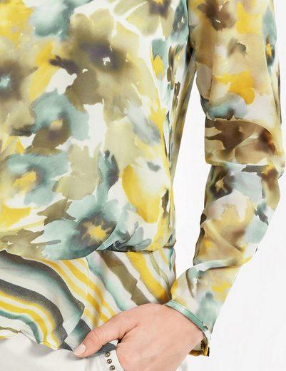 Gerry Weber Bluse 1/1 Arm Bluse mit Schößchen