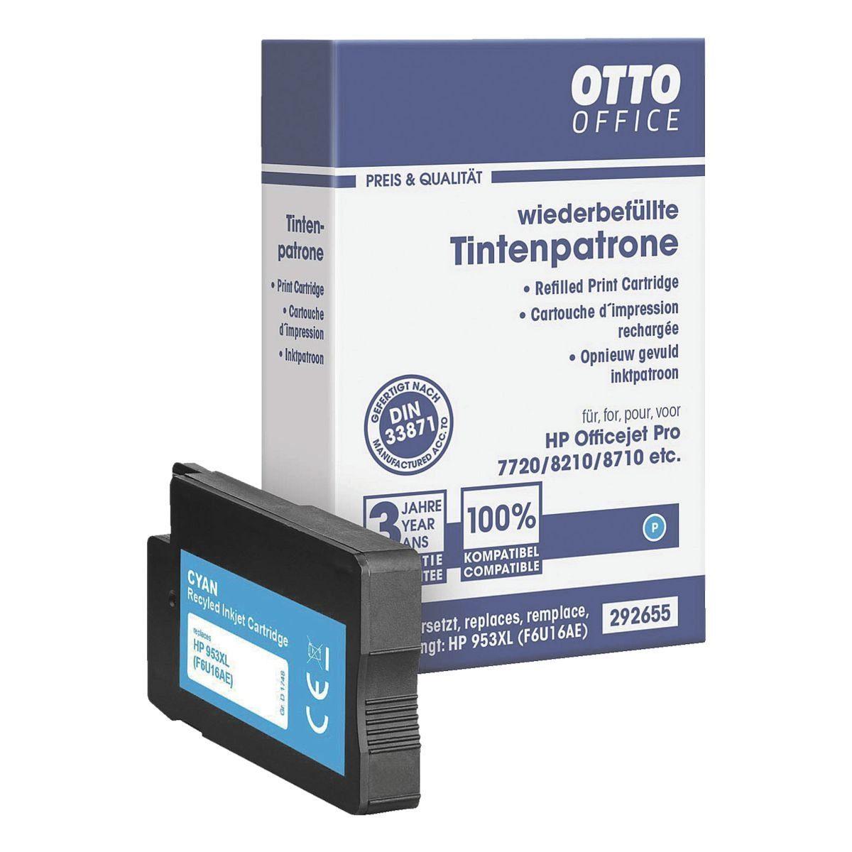 OTTO Office Standard Tintenpatrone ersetzt HP Nr. 953XL »F6U16AE«