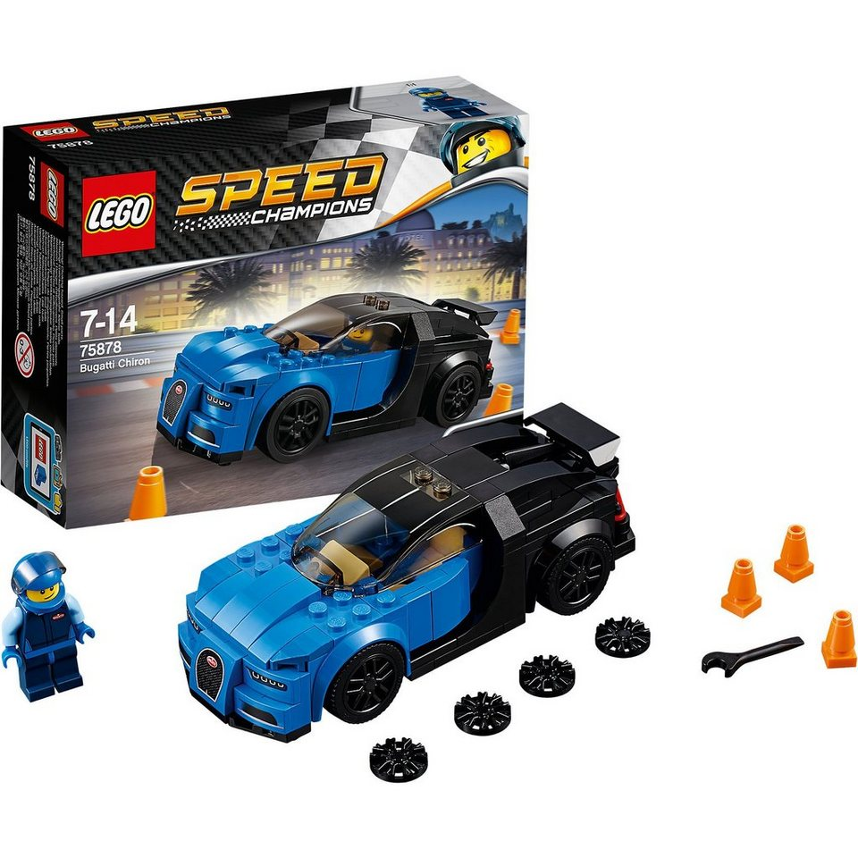 lego 75878 speed bugatti chiron online kaufen otto. Black Bedroom Furniture Sets. Home Design Ideas
