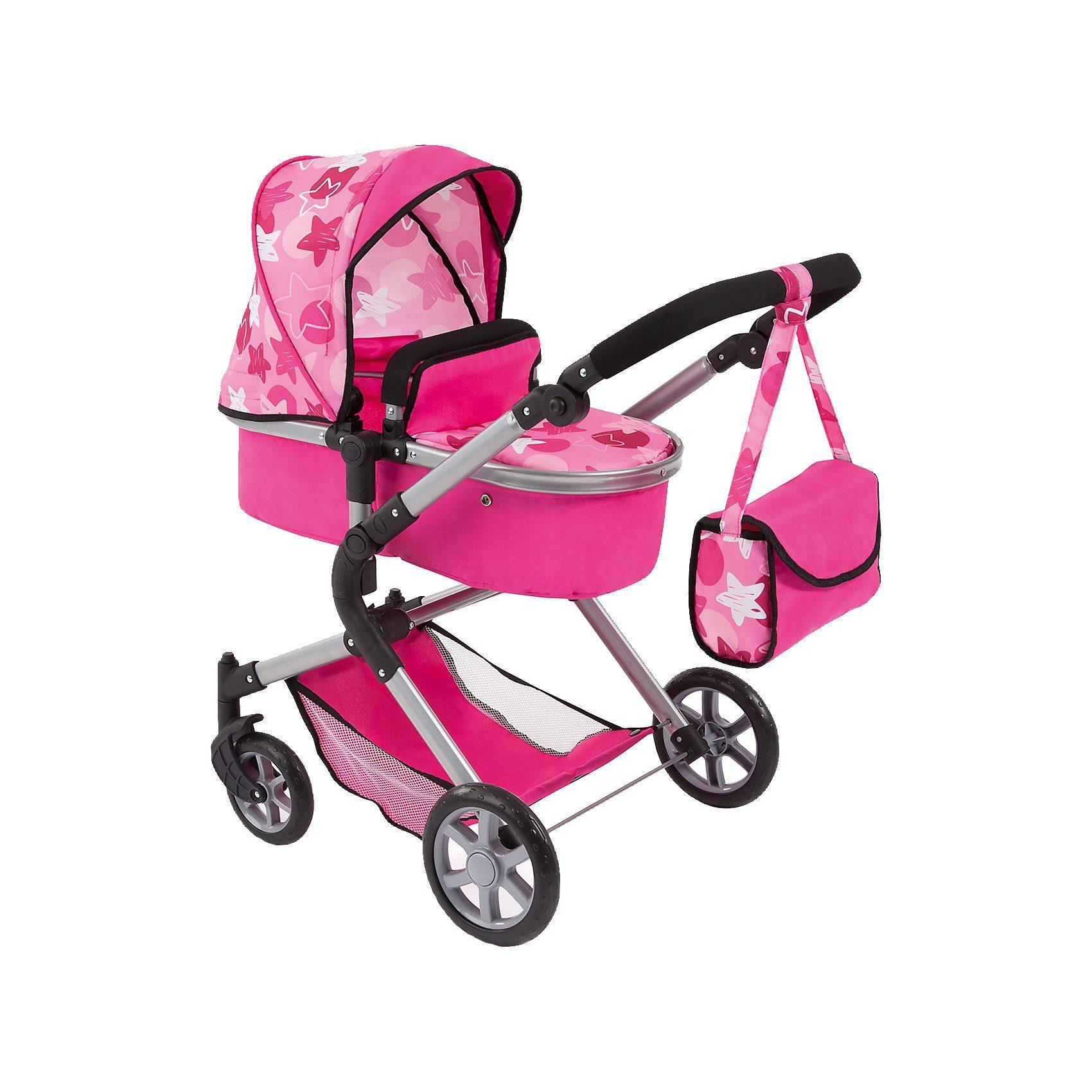 Bayer Puppenwagen City Neo pink Sterne