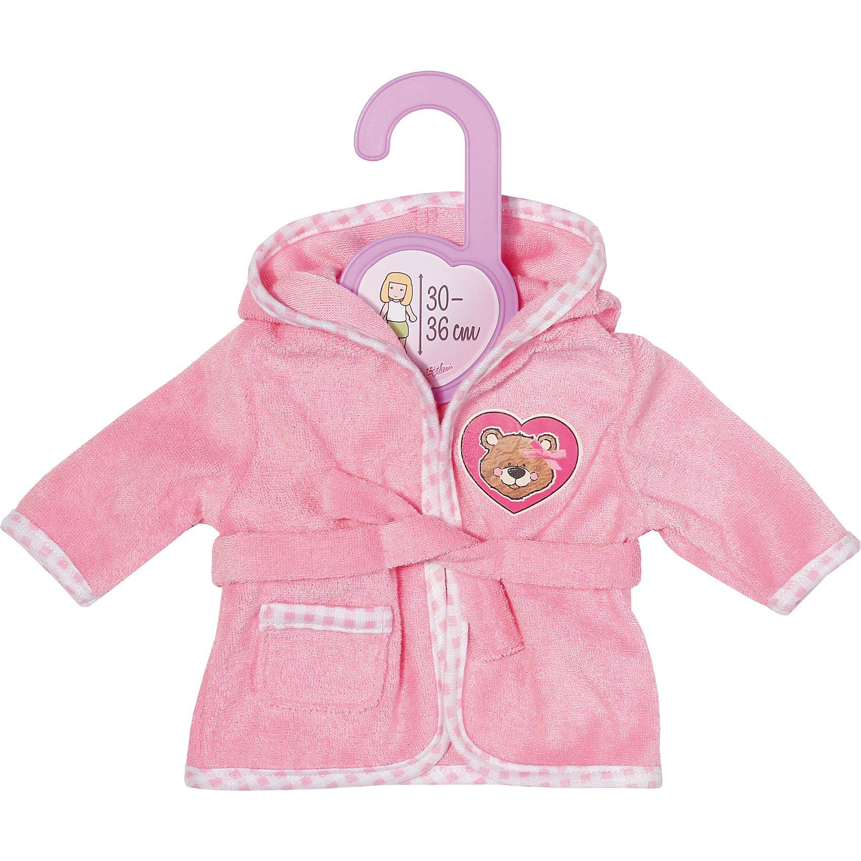 Zapf Creation® Dolly Moda Bademantel, 30-36 cm, Puppenkleidung