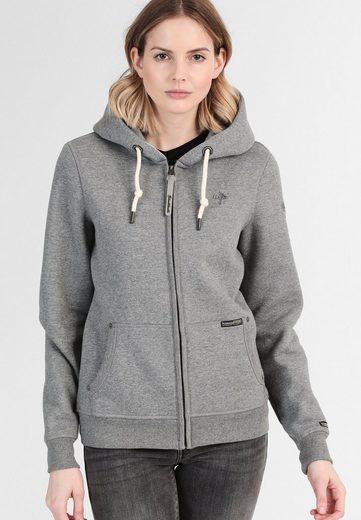 Schmuddelwedda Damen Parka mit herausnembarer Sweatshirtjacke