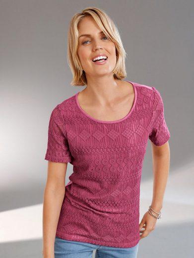 Paola Top Shirt Made Of Elastic Ware