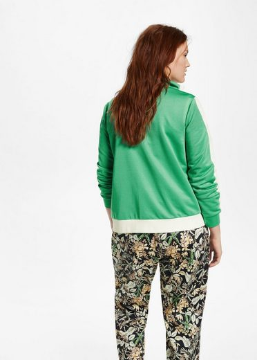 Violeta By Mango Sweatshirt With Contrasting Inserts