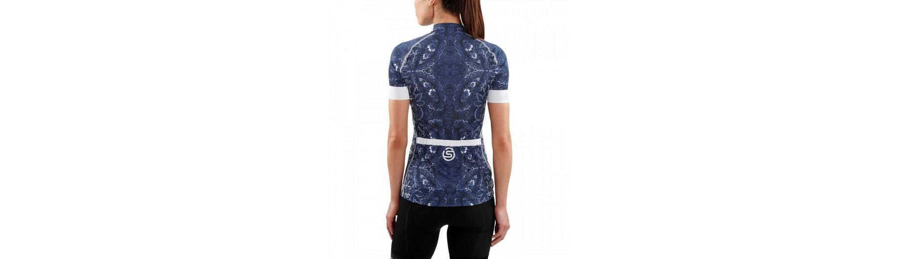 Jersey Skins SS Shirt Zip Full T Classic Women Cycle qxx1wP4AX