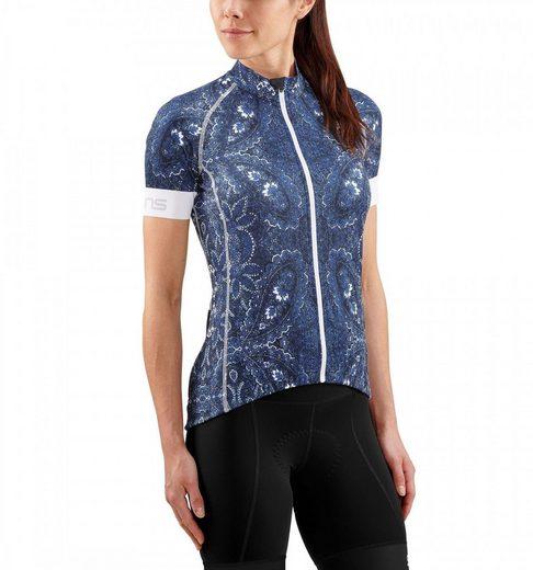 Skins T-Shirt Cycle Classic SS Jersey Women Full Zip