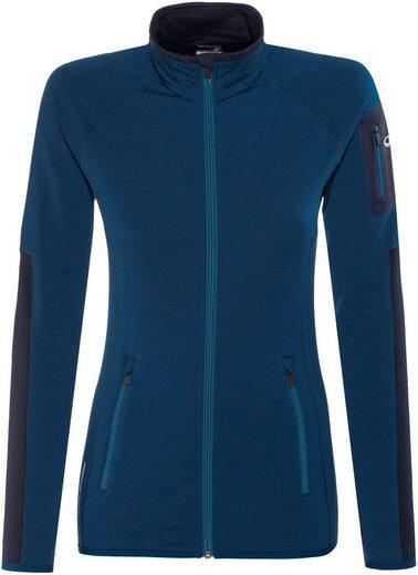 Icebreaker Pullover Atom LS Zip Midlayer Women