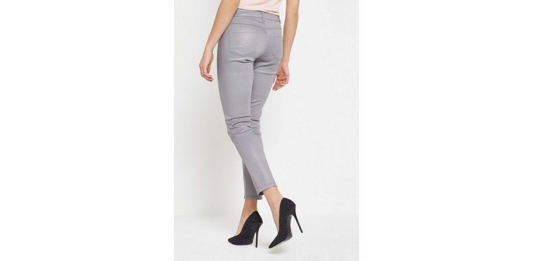 COMMA Leichte Jeans mit Beschichtung Outlet-Store Zum Verkauf Erhalten Authentisch Günstig Online Kosten Für Verkauf Verkauf Rabatte FkEej