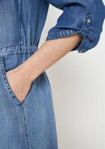 COMMA Leichtes Freizeitkleid im Jeanslook