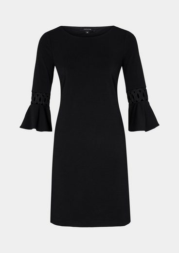 Comma Light Crepe Dress With A 3/4-sleeves