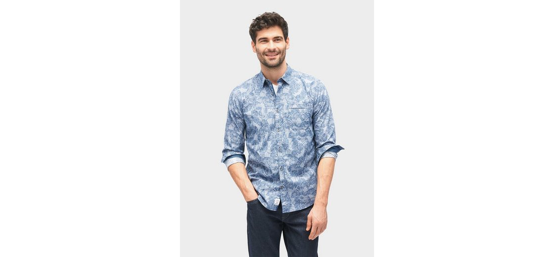 Tom Tailor Hemd gemustertes Hemd mit Brusttasche Große Auswahl An Günstigem Preis Auslass Viele Arten Von Ausgezeichnete Online rYuQVh1AW