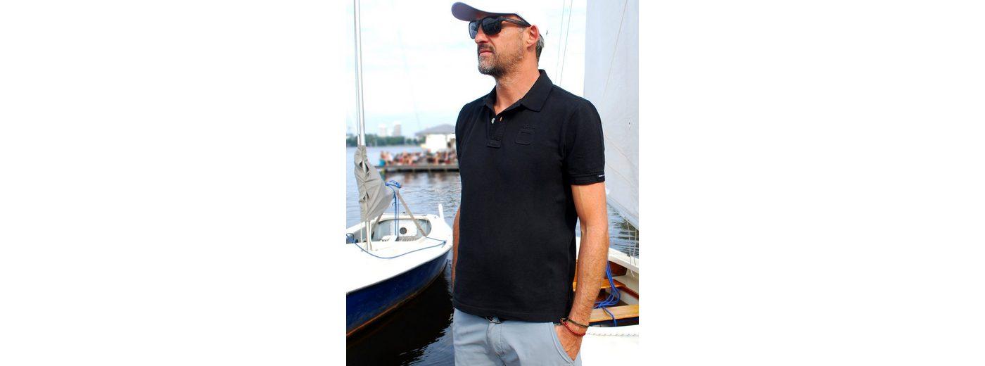 CODE-ZERO Poloshirt GENNAKER, Kontrastfarbiger Materialeinsatz