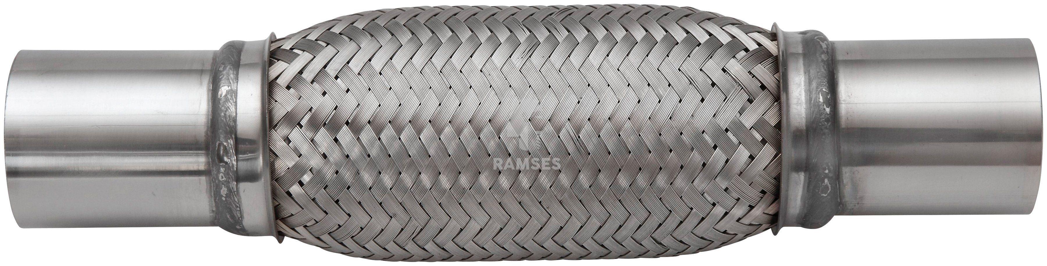 RAMSES Hosenrohr , mit Anschlussstutzen 71 X 200 mm Edelstahl A2