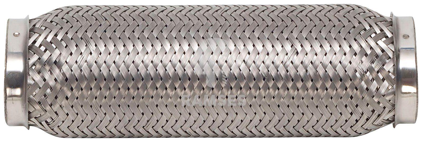 RAMSES Hosenrohr , oval 40/56 x 210 mm Edelstahl A2