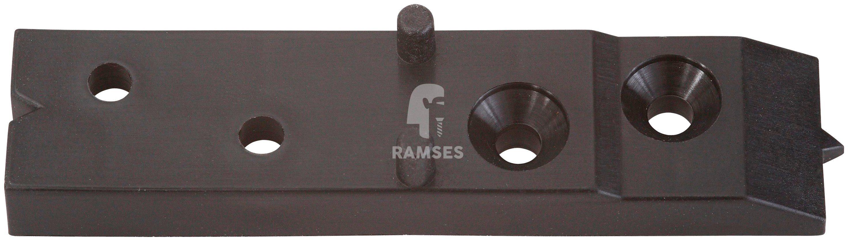 RAMSES Verbinder , für Terrassendielen, ca. 5m² inkl. Schrauben 150 Stück