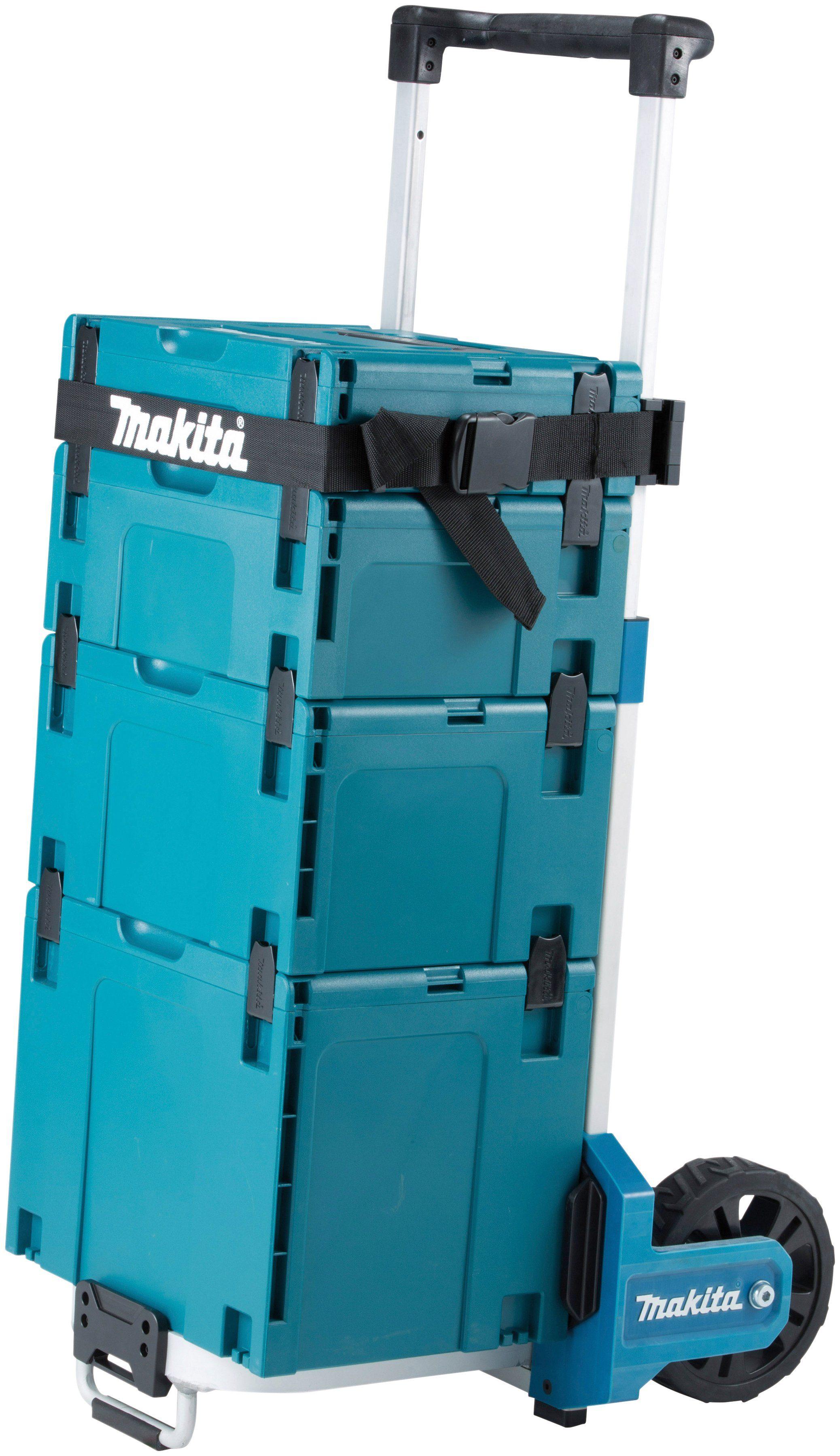 MAKITA Werkzeugtrolley »TR00000001«, 57x50x112 cm, faltbar