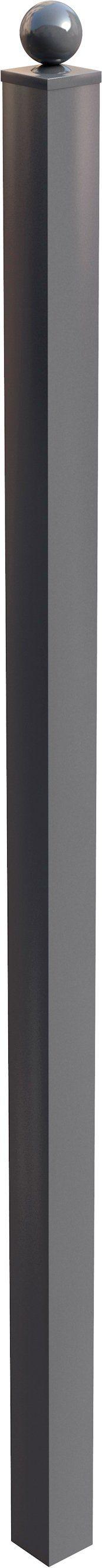 ARVOTEC Zaunpfosten »Agen«, Einseitig, 6x6x160 cm