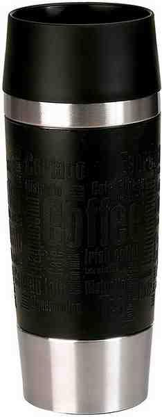 emsa Isolierbecher, 0,36 Liter, 2 Stück, »Travel Mug«
