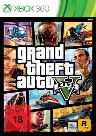 GTA - Grand Theft Auto 5 Xbox 360